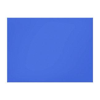 Color sólido del azul real lona estirada galerías