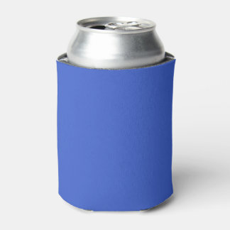 Color sólido del azul real enfriador de latas