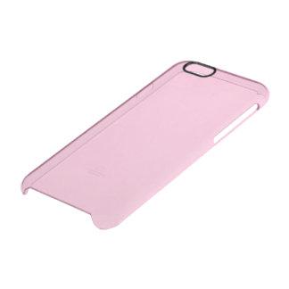 Color sólido del caramelo de algodón funda clearly™ deflector para iPhone 6 de uncommon