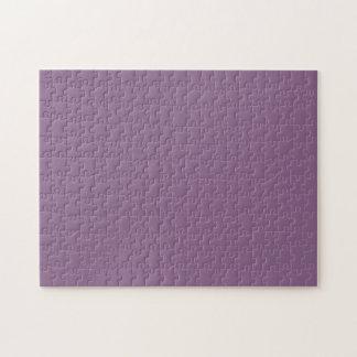 Color sólido del ciruelo puzzle