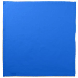 color sólido del fondo sólido azul sólido servilleta imprimida