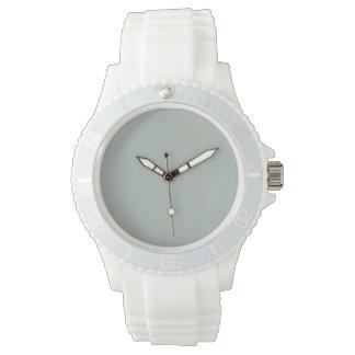 Color sólido del gris de ceniza reloj