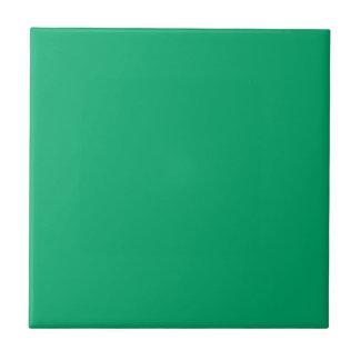 Color sólido del jade azulejo cuadrado pequeño