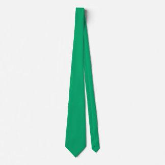 Color sólido del jade corbatas