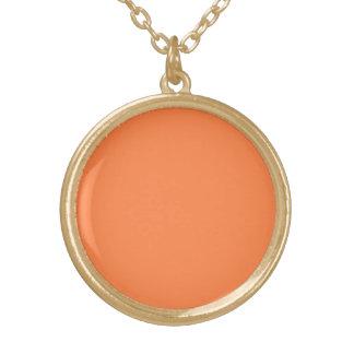 Color sólido del mango colgantes personalizados