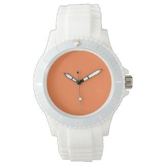 Color sólido del mango reloj de mano