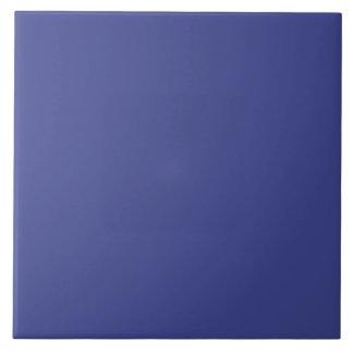Color sólido del pantano azul azulejo cuadrado grande
