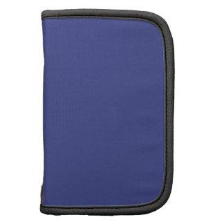 Color sólido del pantano azul planificadores