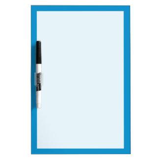 Color sólido del Topaz azul Tableros Blancos