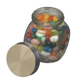 Color sólido del trigo jarras de cristal