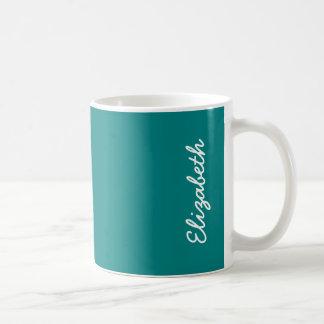Color sólido del trullo taza de café