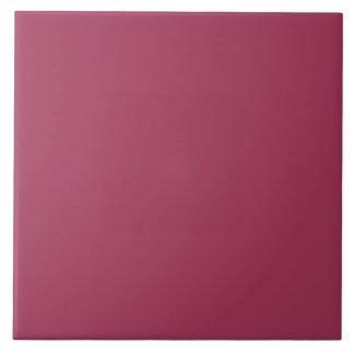 Color sólido del vino azulejo cuadrado grande