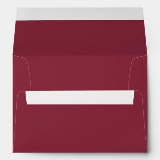 Color sólido del vino sobres