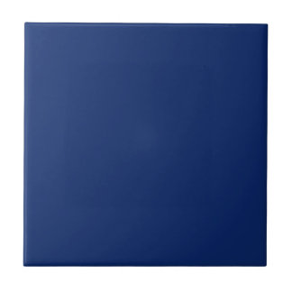 Color sólido del zafiro oscuro azulejo cuadrado pequeño
