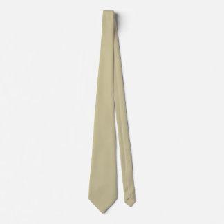 Color sólido echado a un lado doble de color caqui corbatas personalizadas