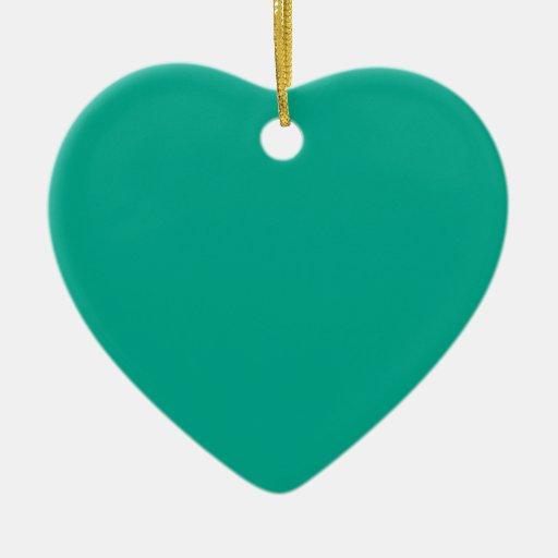 Color sólido esmeralda adorno de reyes
