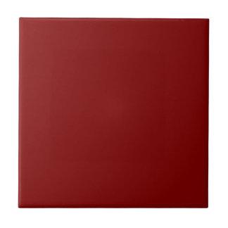 Color sólido marrón azulejo cuadrado pequeño
