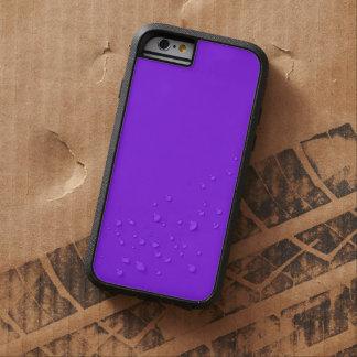 Color sólido púrpura de neón funda de iPhone 6 tough xtreme