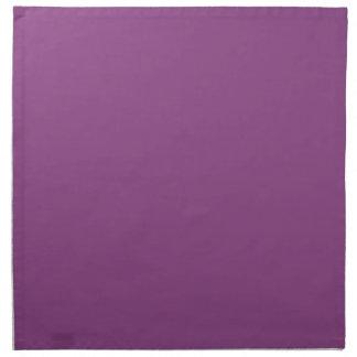 Color sólido: Púrpura del ciruelo Servilletas