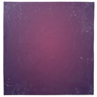Color sólido púrpura del vintage retro servilleta imprimida