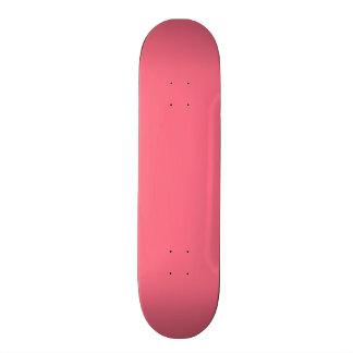 """Color sólido rosado de la sandía patineta 7 3/4"""""""