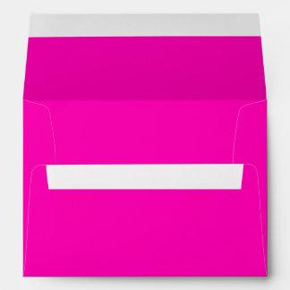 Color sólido rosado de neón sobre