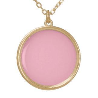 Color sólido rosado del chicle colgante personalizado