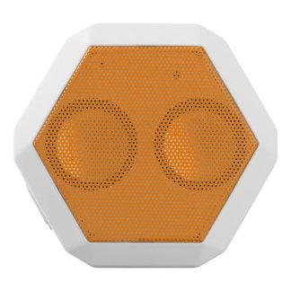 Color sólido simplemente anaranjado altavoces bluetooth blancos boombot REX