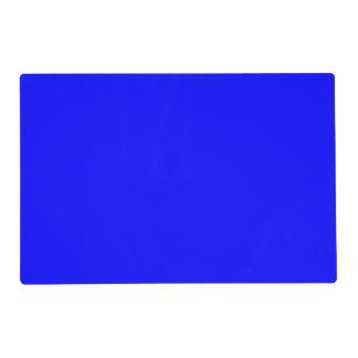Color sólido simplemente azul salvamanteles