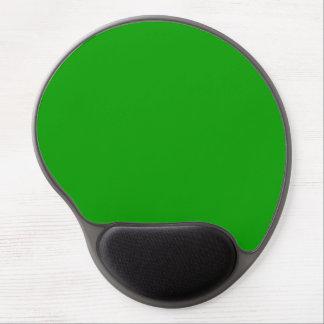 Color sólido simplemente verde alfombrilla gel