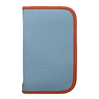 Color sólido tradicional del mandarín azul de la o organizador