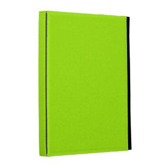 Color sólido verde fluorescente