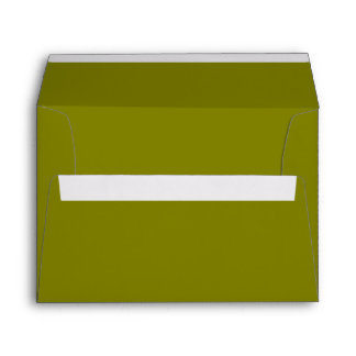 Color sólido verde oliva sobres