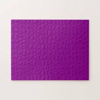 Color sólido violeta puzzle