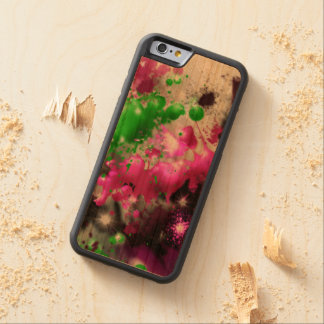 Color spatter phone case