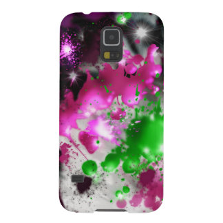 Color spatter phone case