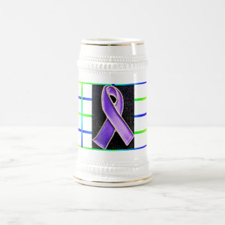 Color Spectrum for a cure for all Cancer Beer Stein