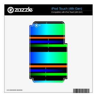 color spectrum iPod touch 4G skins
