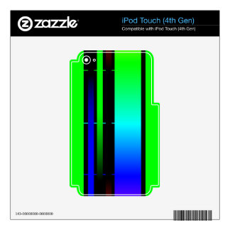 color spectrum skins for iPod touch 4G