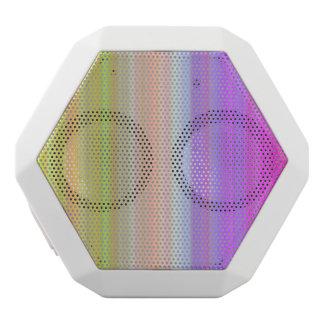 Color Spectrum Stripes White Boombot Rex Bluetooth Speaker