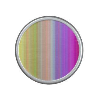 Color Spectrum Stripes Bluetooth Speaker