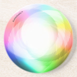 Color spin coasters