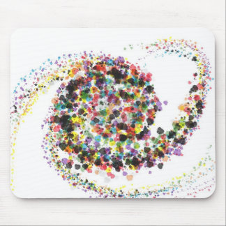 Color Spiral Combo Mouse Pad