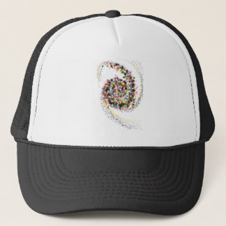 Color Spiral Combo Trucker Hat