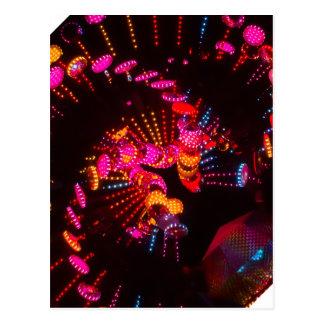Color Spiral Postcard