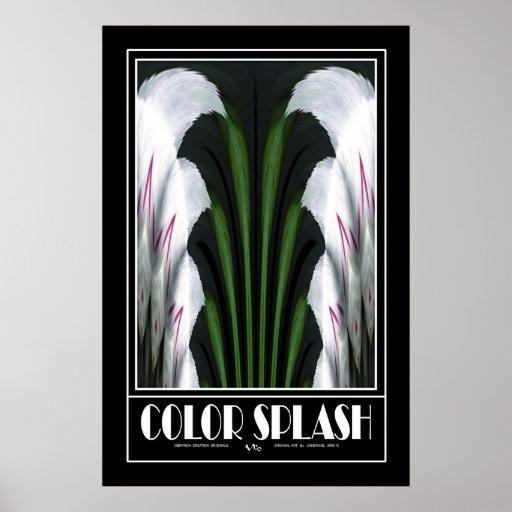 COLOR SPLASH #18 POSTER