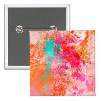 Color Splash 2 Inch Square Button