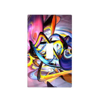 Color Splash Abstract Light Switch Covers