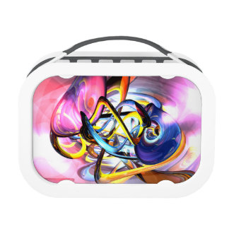 Color Splash Abstract Lunchbox