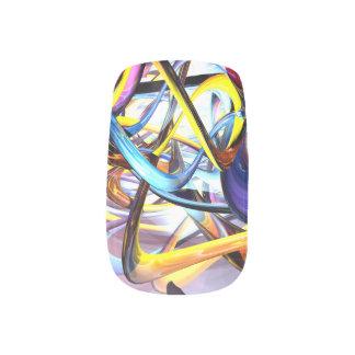 Color Splash Abstract Minx ® Nail Art